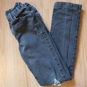 Gray colored boys jeans